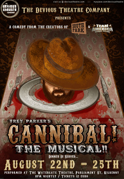 Cannibal The Musical Teaser Poster